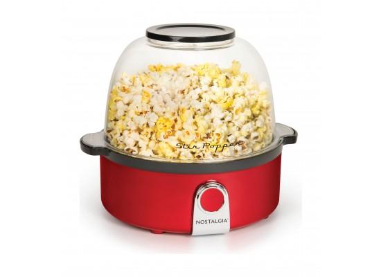 Nostalgia Stir Popcorn Popper (SP240RR)