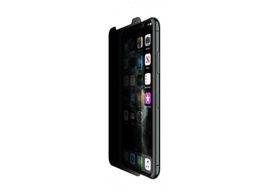 Belkin InvisiGlass iPhone 11 Pro Tempered Screen Protector - Black