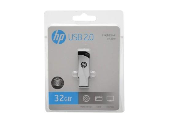 HP 2.0 32GB USB Flash Drive - HPFD236W32