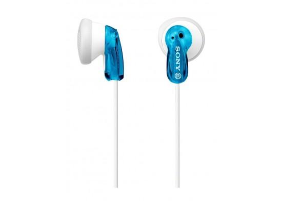 Sony In-Ear Headphones (MDR-E9L) – Blue