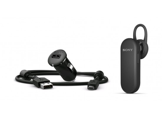 a6dbe822a99 Sony Compact Car Charger + Mono Bluetooth Headset (AN401 + MBH20) - Black