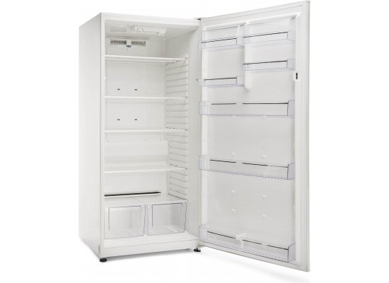 Wansa 19CFT Single Door Refrigerator (WROW-650-NFWTS3) - White