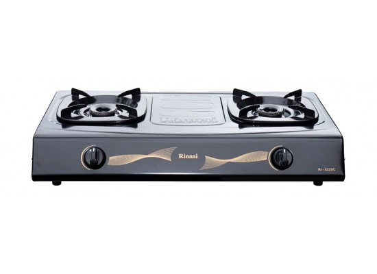Rinnai 2 Burners Basic Gas Stove (RI-522SC) - Grey