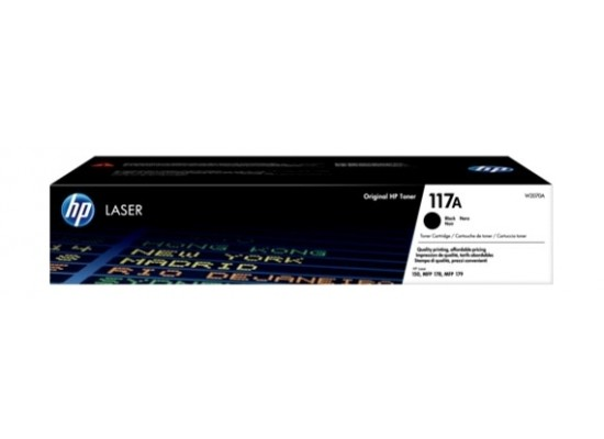 HP 117A Original Laser Toner Cartridge - Black