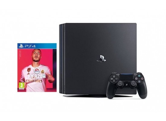 Sony PS4 Pro 1TB Gaming Console + FIFA 20 Standard Edition - PlayStation 4 Game