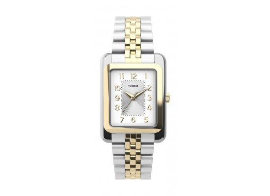 Timex 25mm Casual Ladies Analog Metal Watch - (TW2U14200) - Silver/Gold