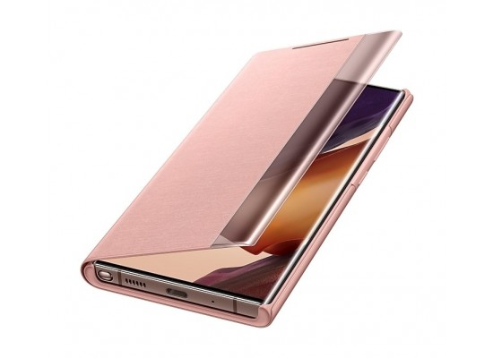 Samsung Galaxy Note 20 Ultra Clear View Cover (EF-ZN985CAEGWW) - Copper Brown
