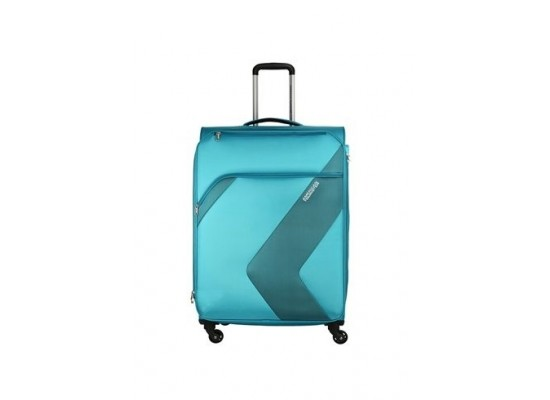 American Tourister Stanford 55CM Spinner Soft Luggage (FC3X41004) - Aqua