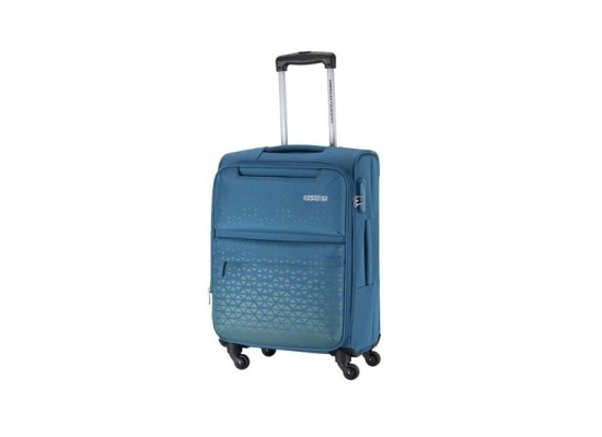 American Tourister Bradford 55CM Soft Luggage (FJ6X01901) - Blue