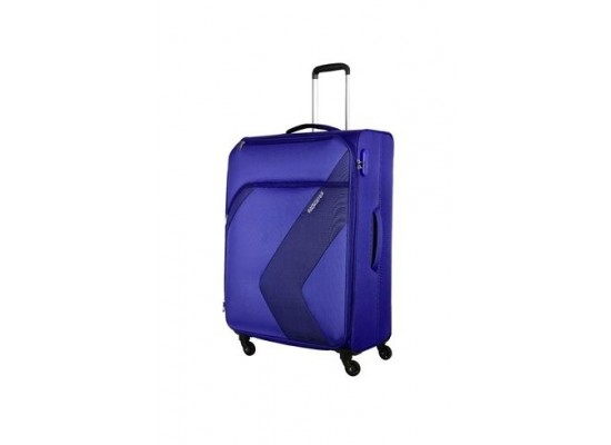 American Tourister Stanford 55CM Spinner Soft Luggage (FC3X41004) - Navy