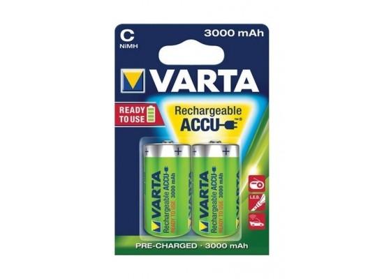 Varta Rechargeable ACCU 2C Nickel-Metal Battery 3000 mAh