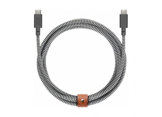Native Union Zebra USB-C to USB-C Cable 2.4 Meters