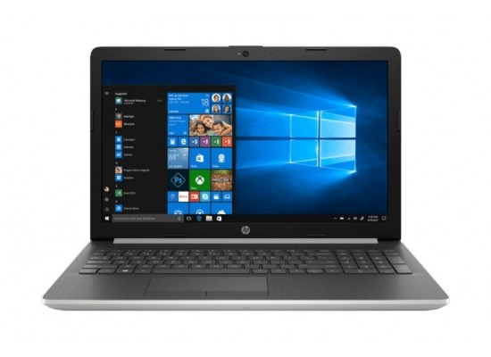 HP Core i5 8GB RAM 1TB HDD 4GB GeForce MX130 15.6 inch Laptop (15-DA1057NE) - Silver