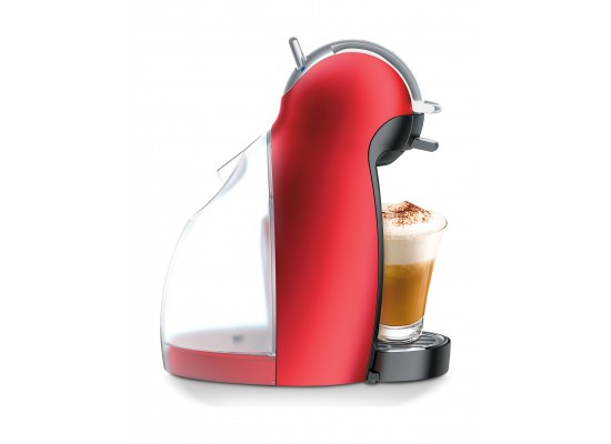 Dolce Gusto Nescafe Genio2 Coffee Maker  (Combo2x68Gxa) - Red + Free 8 Boxes