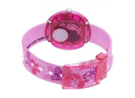 Flik Flak Hello Kitty Butterfly Kids Wrist Watch (FLNP005 ) - Pink