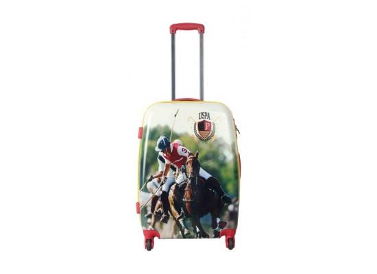 US Polo Hard Case 100% ABS Luggage 68cm (PLVLZ0011B) - Polo Design