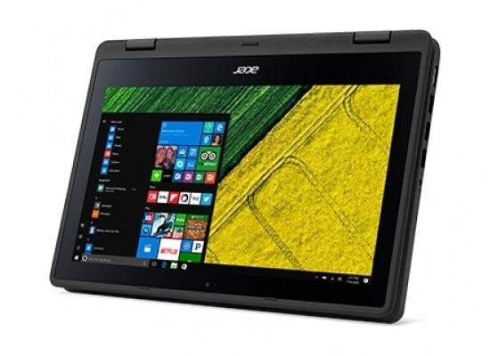 Acer Spin 1 Intel Celeron 4GB RAM 500GB HDD 11.6 Inch HD Touch Display Convertible Laptop (C2PZ) - Black