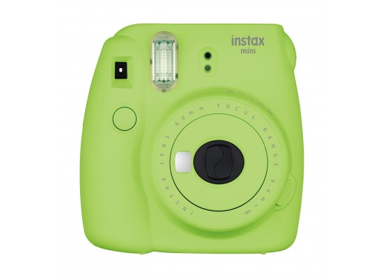 Fujifilm Instax Mini 9 Camera - Lime Green