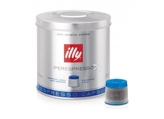 Illy Espresso Long Roast Coffee Pods 21 Servings – Blue