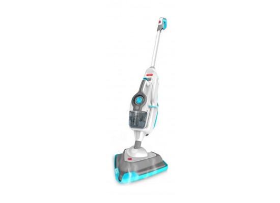 Hoover 1600W Steam Boost 10-in-1 Steam Cleaner (HS86-SFCM) - White / Blue