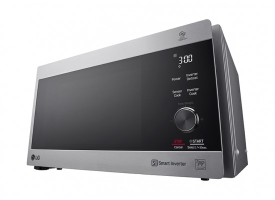 LG 42 Liter Neo Chef Inverter Microwave with Grill (MH8265CIS) - Grey
