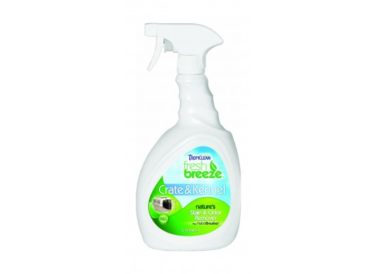 Tropiclean Fresh Breeze Stain and Odor Crate and Kennel Cleaner – 32oz