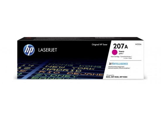 HP W2211A 207A Original LaserJet Toner Cartridge - Magenta