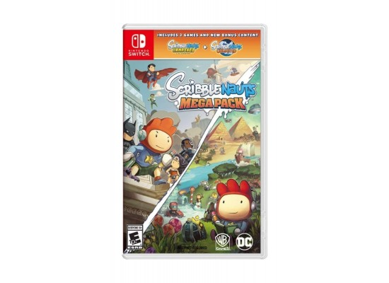 Scribblenauts Mega Pack - Nintendo Switch Game
