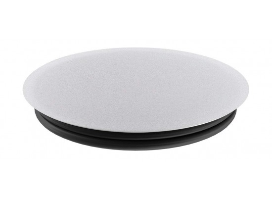 Popsockets Phone Stand and Grip (101125) - Silver Aluminum