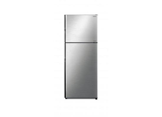 Hitachi 19 CFT Top Mount Refrigerator (R-V550PK8K) - Silver