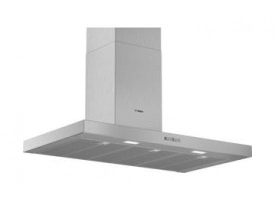 Bosch DWB94BC51B 90CM Island Cooker Chimney Hood - Stainless Steel