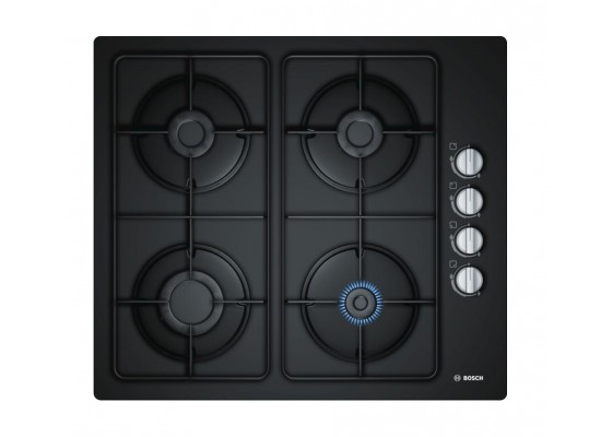 Bosch 60CM Built-in Gas Hob (POP6C6B80M) - Black