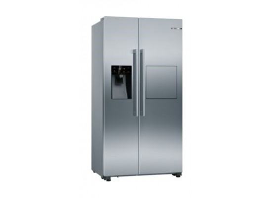 Bosch 21CFT Side-by-Side Refrigerator (KAG93AI30M) - Stainless Steel
