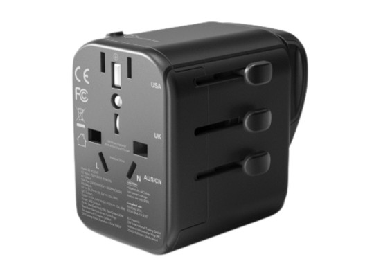 RAVPower 30W 4 ports Travel Charger (RP-PC099) - Black