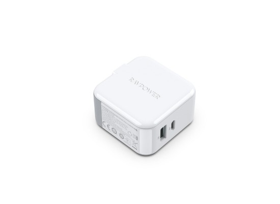 RAVPower 18W Dual USB Wall Charger (RP-PC110) - White