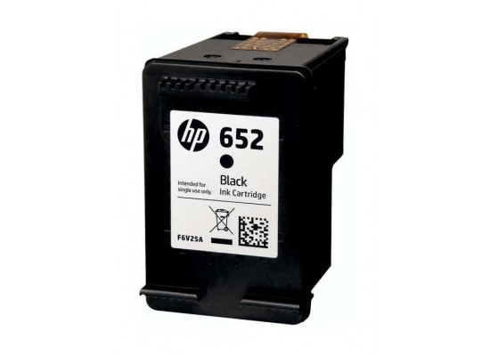HP Ink 652 Black Ink