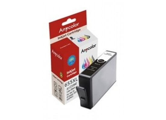 AnyColor 655XL High Yield Ink Cartridge - Black 2