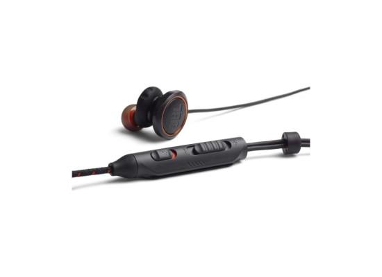 JBL Wired In-Ear Earphone w/Mic (JBLQUANTUM50BLK) -Black
