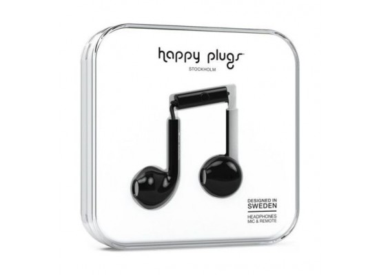Happy Plugs Earbud Plus (HP-7815) - Black
