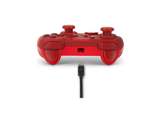 PowerA NS Pokémon Enhanced Wired Controller – Charmander Blaze