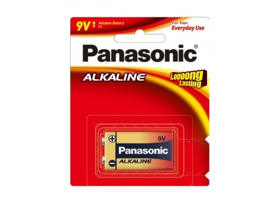 Panasonic 6LR61TP0/1B Battery