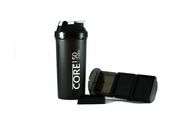 Core 150 Attitude Protein Shaker Bottle – Black