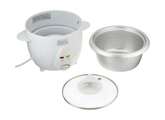 Black & Decker RC650-B5) 300W 0.6 Liter Rice Cooker - 3