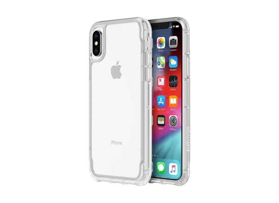 newest 552cb 8f28b Griffin Survivor Case Apple iPhone XS Max Back Case - Iris Clear