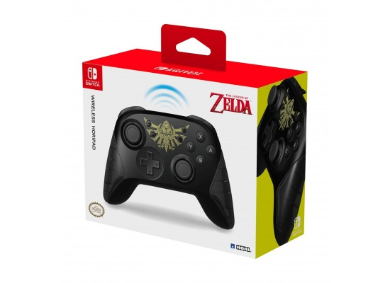 HORI Wireless Rechargeable Nintendo Switch Controller - Zelda Edition