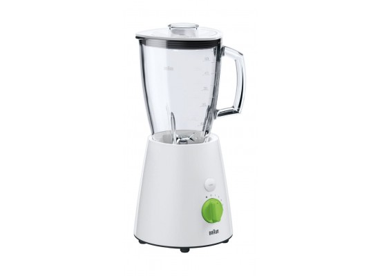 Braun JB3060 Heavy Duty 1.7L Glass Blender 800 Watts - White