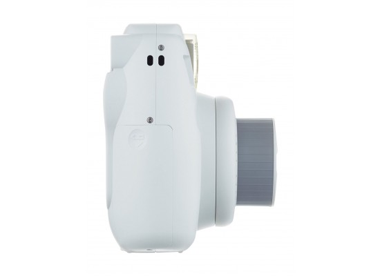 Fujifilm Instax Mini 9 Camera - Smokey White Side View