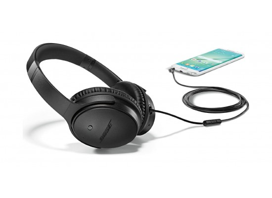 fdb1e0d36a4 Bose QuietComfort 25 Acoustic Noise Cancelling Headphones For Samsung and  Android devices - Triple Black