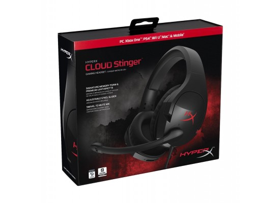 HyperX Cloud Stinger Wired Gaming Headset wMic - Black