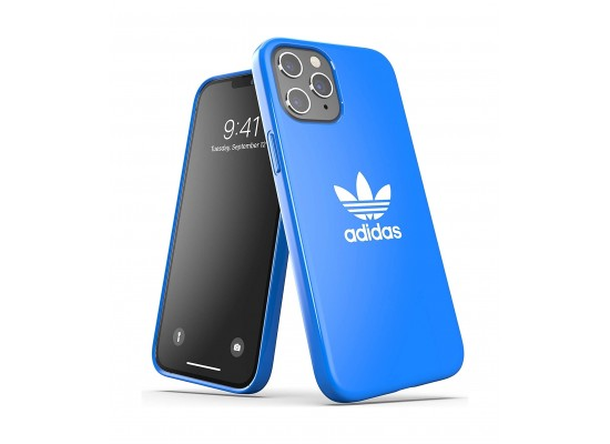 Adidas Originals iPhone 12 Mini Shockproof Protective Back Case - Blue Bird